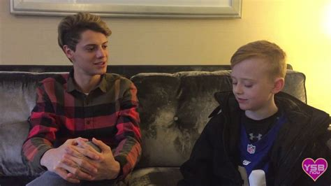 Jace Norman Interviewed By ADORABLE KID! - YouTube