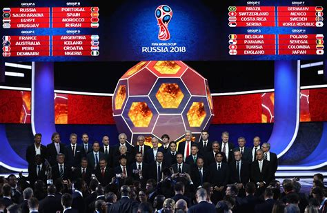 Final Draw of the FIFA World Cup 2018 in Russia · Russia