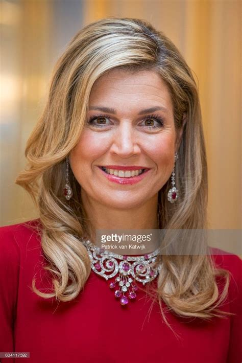 Queen Maxima of the Netherlands hosts a dinner in honor of