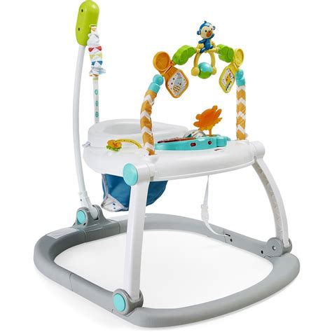 Fisher Price Colourful Carnival Space Saver Jumperoo | BIG W