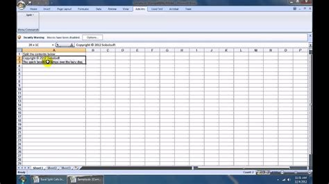 How To Use Excel Split Cells Into Multiple Rows or Columns