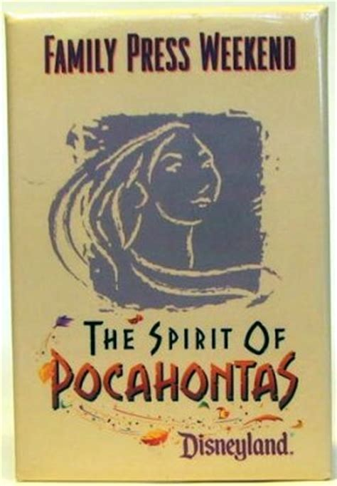 The Spirit of Pocahontas button from our Buttons