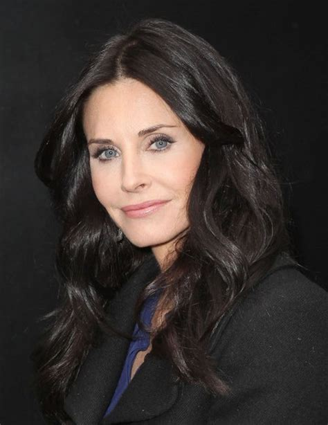Courteney Cox Expresso Long Wavy Hairstyles - PoPular Haircuts