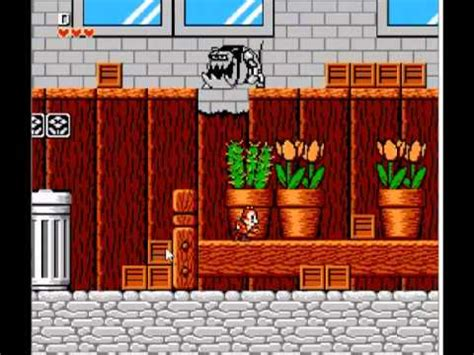 Chip n Dale Rescue Rangers Family Computer Video Game for