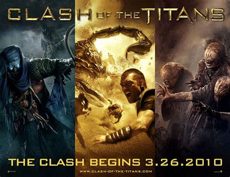 Clash of the Titans Movie Poster (#3 of 11) - IMP Awards
