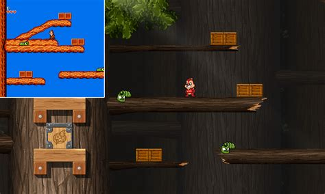 Remake of Chip 'n Dale game (NES) - Modern Gaming