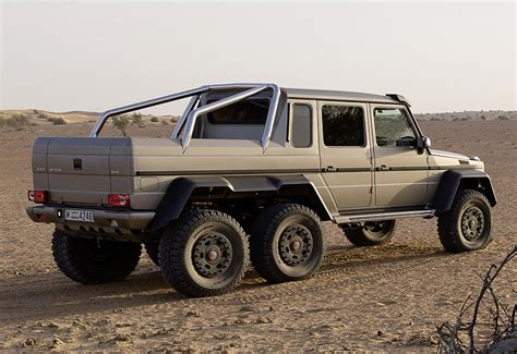 2013 Mercedes-Benz G 63 AMG 6x6 (W463) - specifications