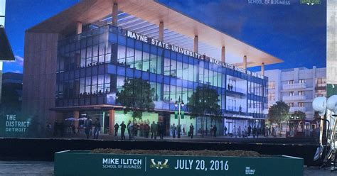 Work starts on Mike Ilitch School of Business