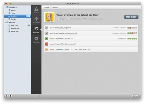 Designing GitHub for Mac · by Kyle Neath