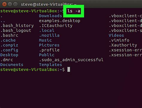 How to Show Hidden Files in Linux: 6 Steps (with Pictures)