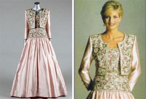 Princess Diana's dresses including the one worn with