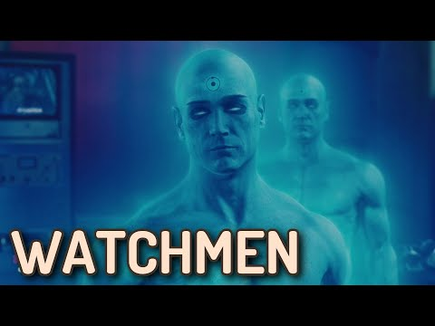 WATCHMEN DS ROLLED ADV ORIG 1SH MOVIE POSTER JACKIE EARLE