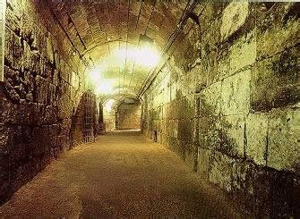 Kotel Tunnels and the Temple