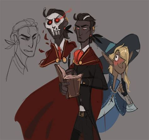 Chanarts | The adventure zone, Sketches, Character design