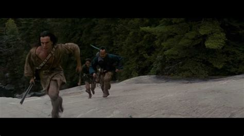 Daniel Day-Lewis (and his hair) Running - The Last of the