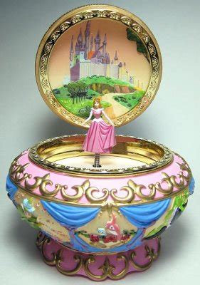 Princess Aurora musical jewelry box from our Other