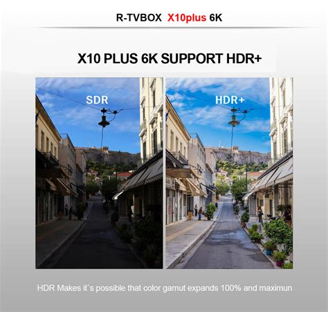 X10 Plus 6K UHD Android 9